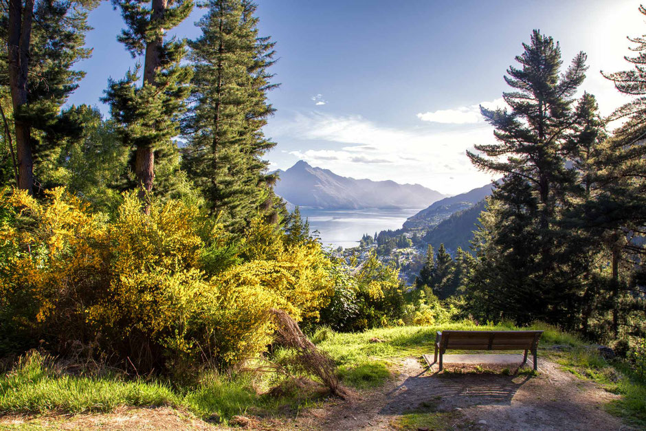Best photography spots in Queenstown: Queenstown Hill