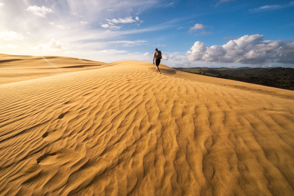 Te Paki Sand dunes. A must see spot for every photographer visiting the North Island