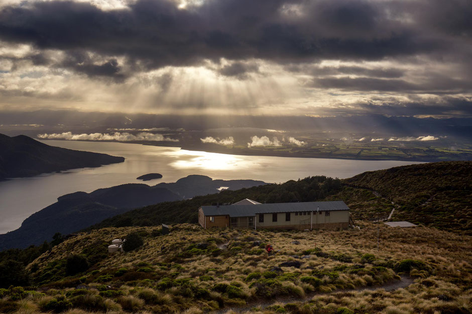 The Luxmore Hut on the Kepler Great Walk in New Zealand - In A Faraway Land