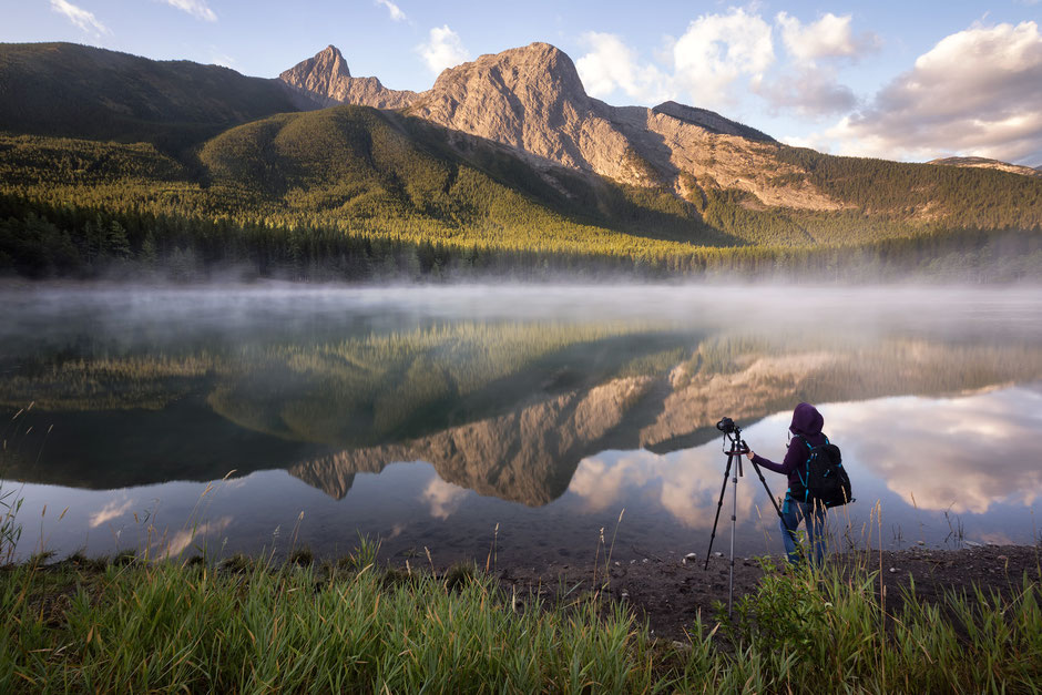 Wedge Pond - One of many awesome photography spots in Canmore and Kananaskis