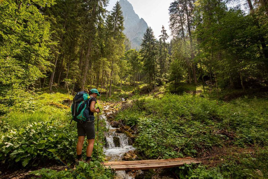 Val Canali - the culmination of the Pale di San Martino traverse