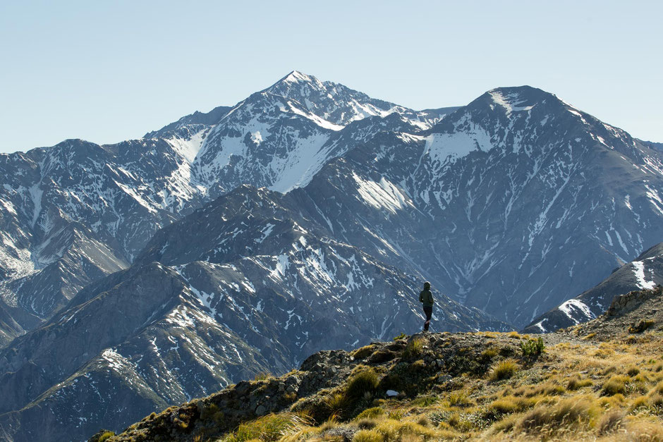 The Seaward Ranges in Kaikoura