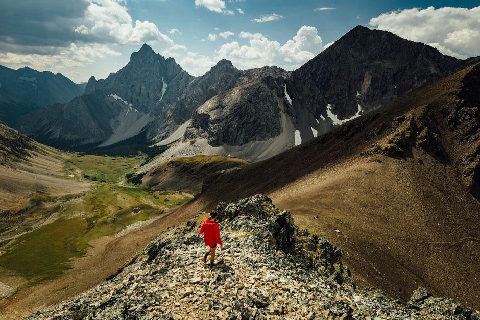 Piper Pass, kananaskis country.