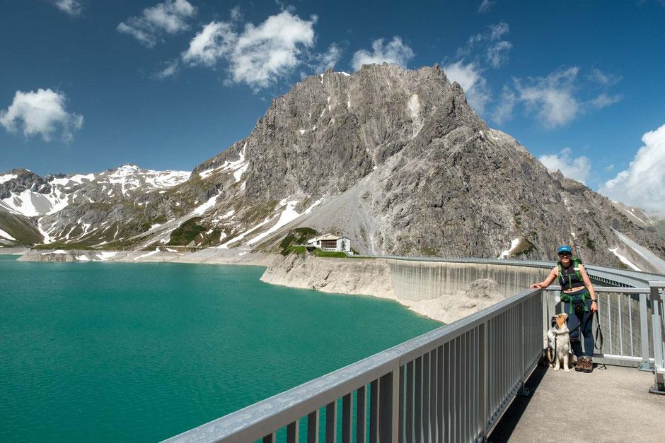Luenersee and Douglas hut in Austria