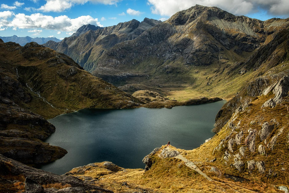 The Conical Hill extension on the Routeburn Track in New Zealand