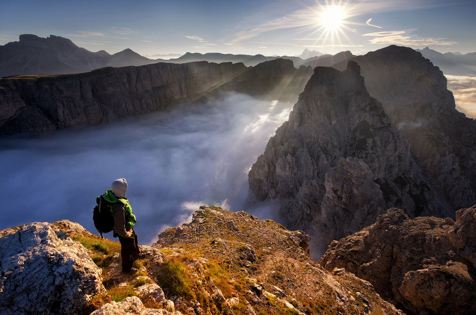Best Photography Spots in the Italian Dolomites - Gran Cir Summit in Corvara