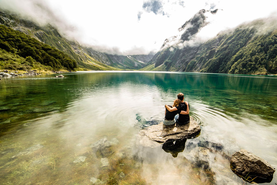 Lake Marian one of the best day hikes in New Zealand