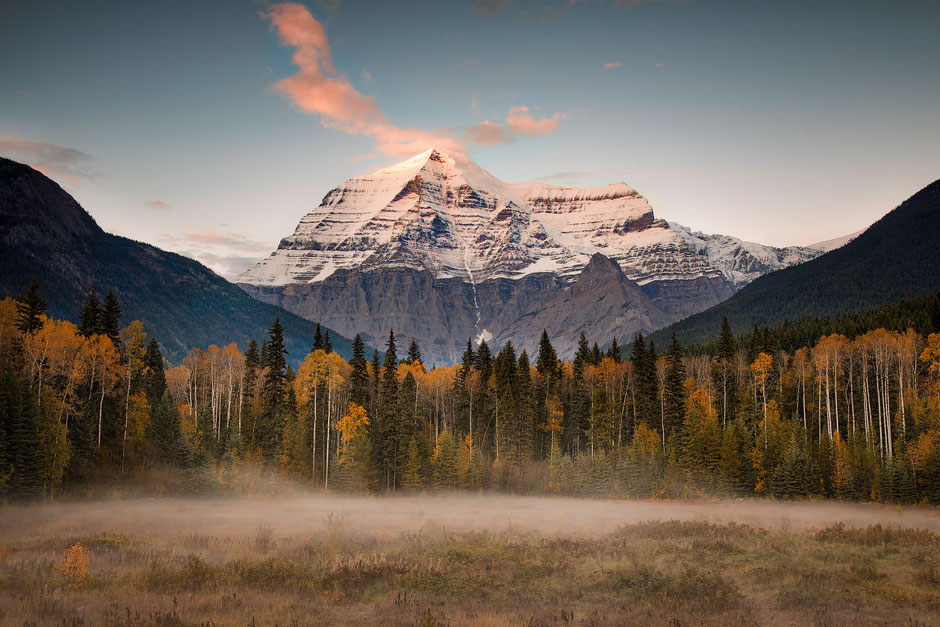 Mount Robson - The tallest peak in the Canadian Rockies