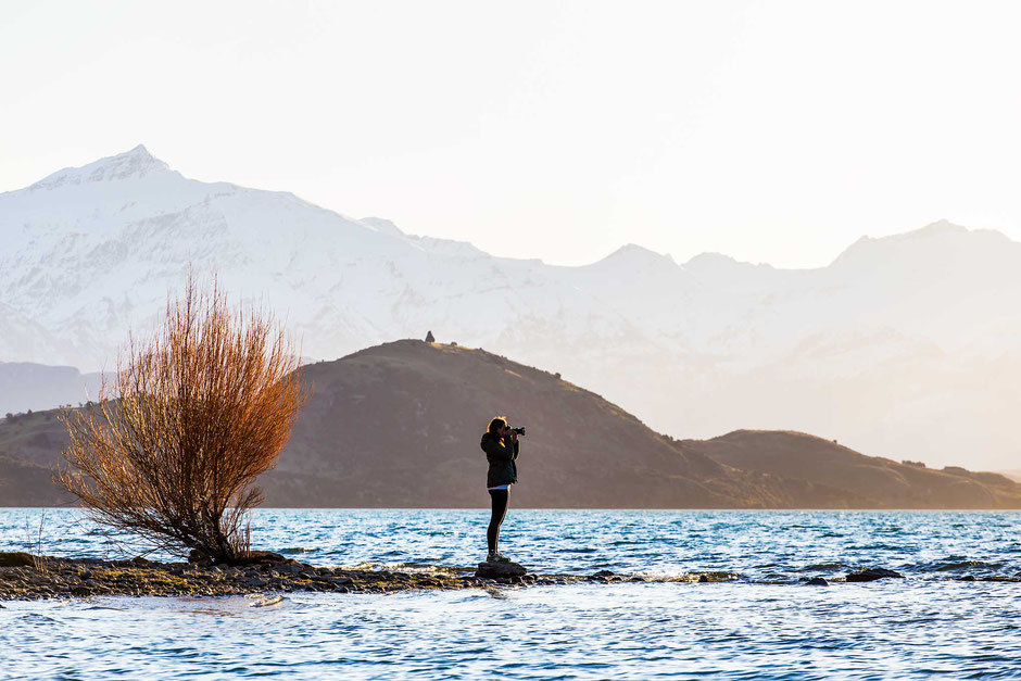 Bremner Bay. One of the most photogenic spots in Wanaka.