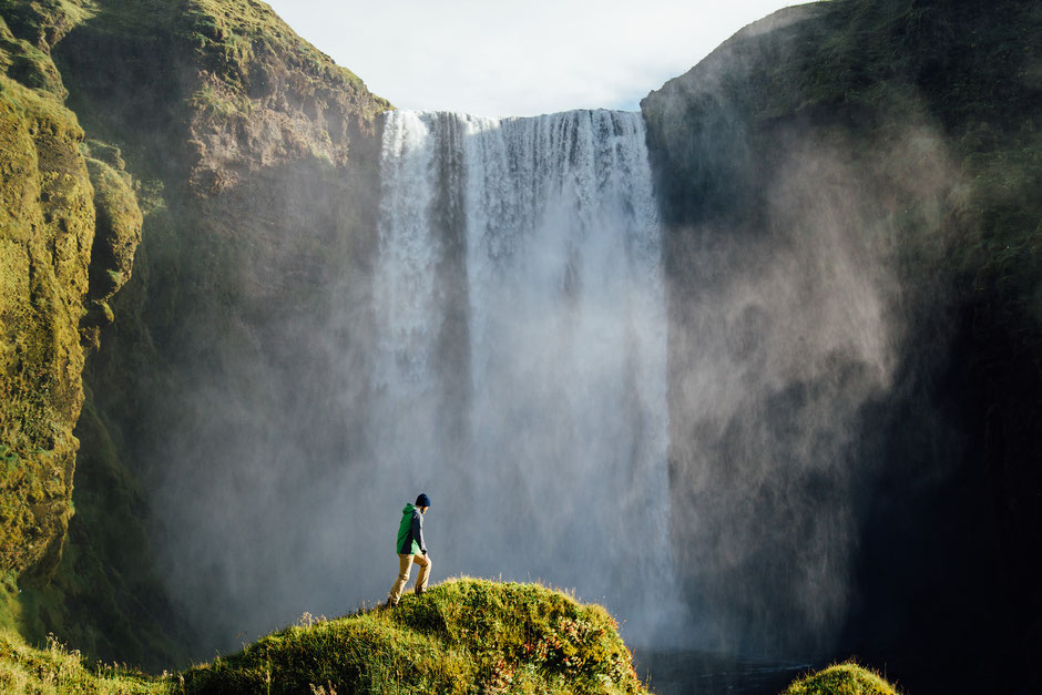 Skogafoss. Best photography spots in Iceland
