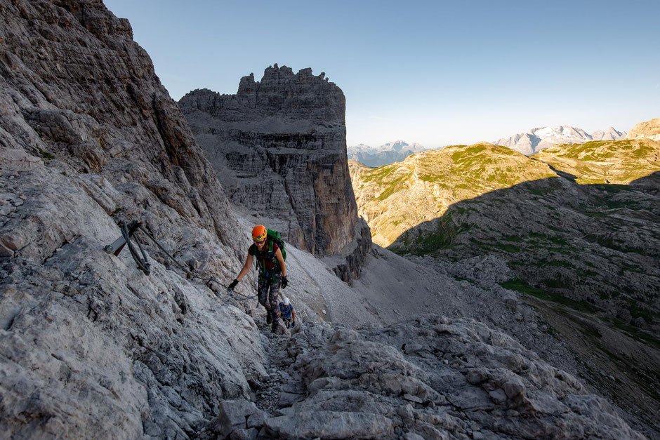 Everything you need to know about via ferrata Giovanni Lipella in the Italian Dolomites