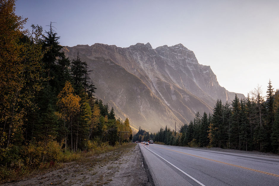 Roger's Pass in Glacier National Park. Vancouver - Canadian Rockies - Vancouver Road trip guide
