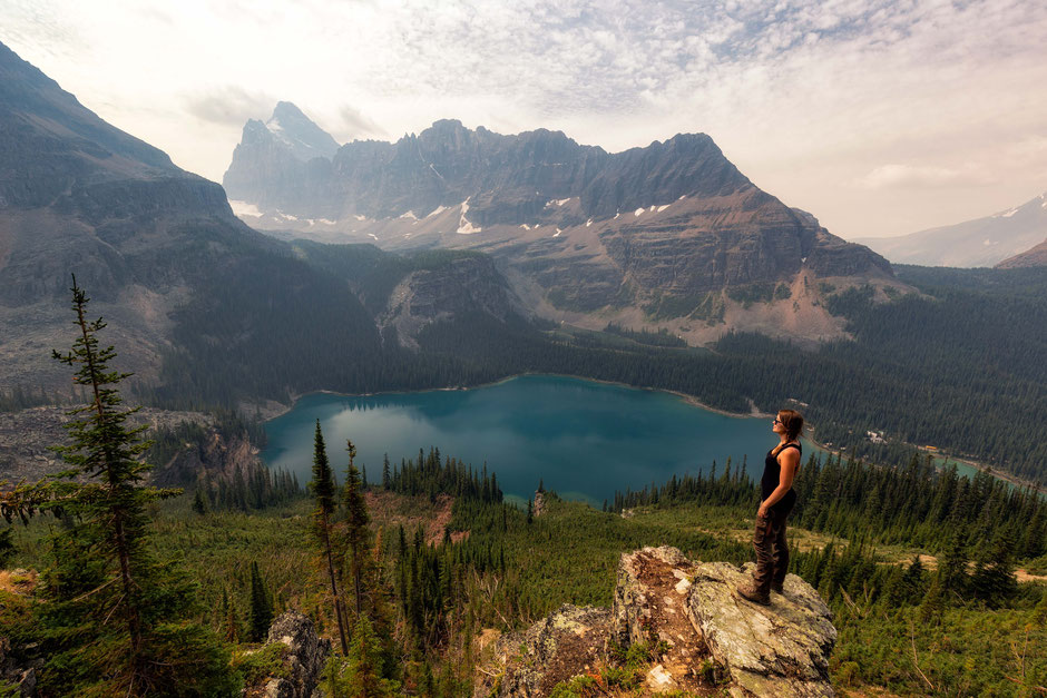 The Wiwaxy Ledge and the Schäffer Ridge - A multi-day backpacking trip to Lake O'Hara