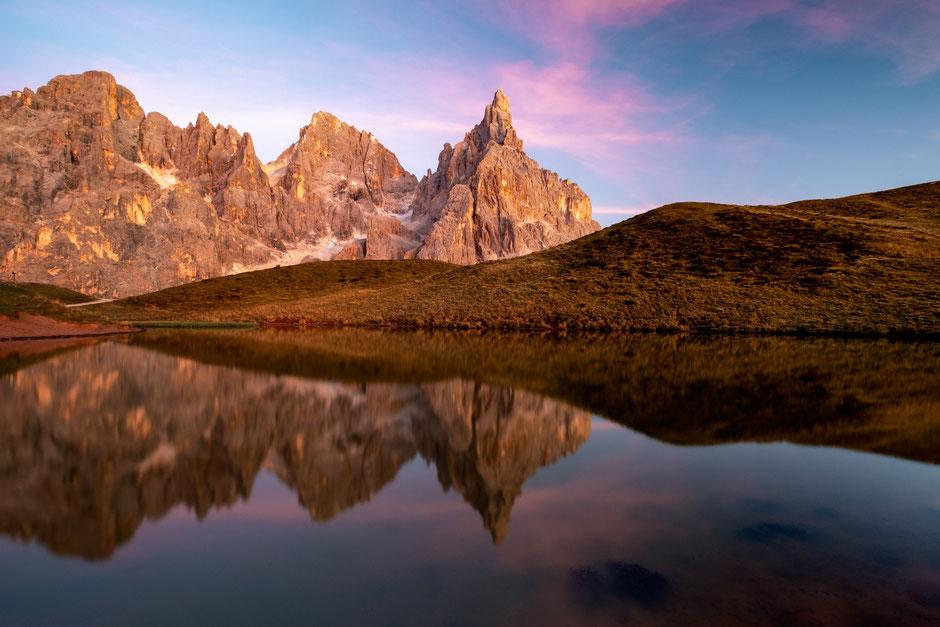 Passo rolle Italian Dolomites