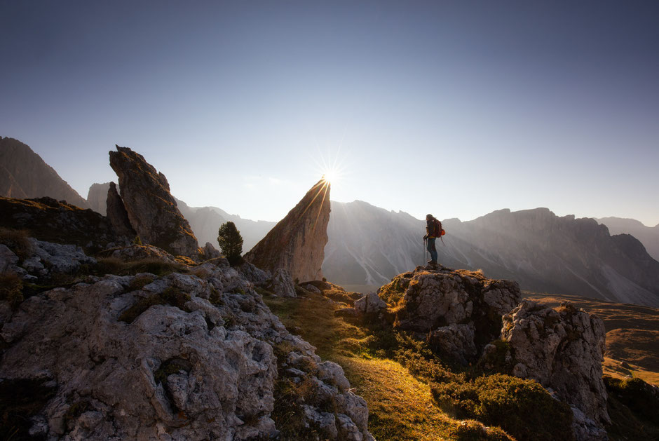 Puez Odle Nature Park in the Italian Dolomites