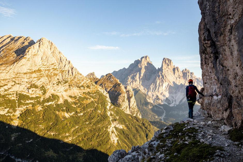 Via ferrata Vandelli - part of the Alta Via 4