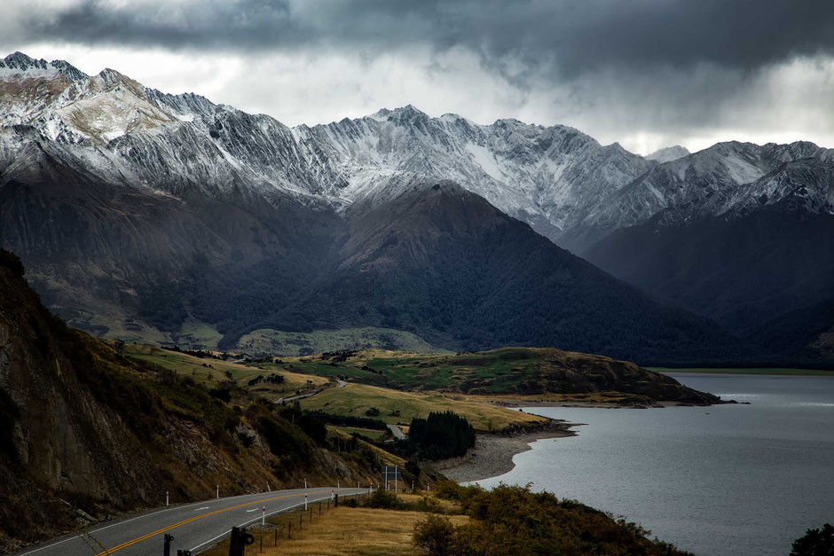 Haast Pass. Most scenic drives in New Zealand