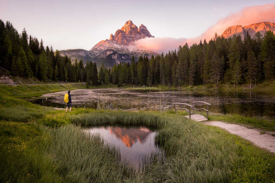 Best Photography Spots in the Italian Dolomites - Lago di Antorno