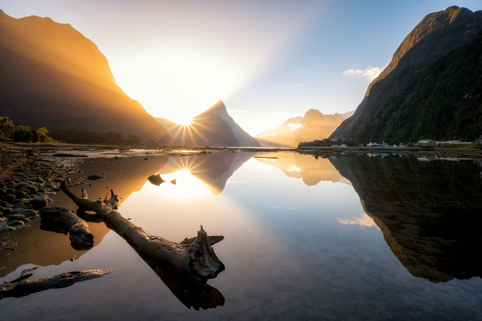 Milford Sound - one of the most photogenic spots in New Zealand