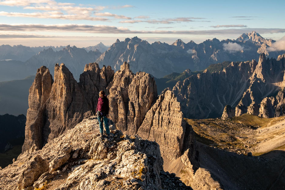 Best beginner via ferratas in the Italian Dolomites - Via Ferrata Innerkofler
