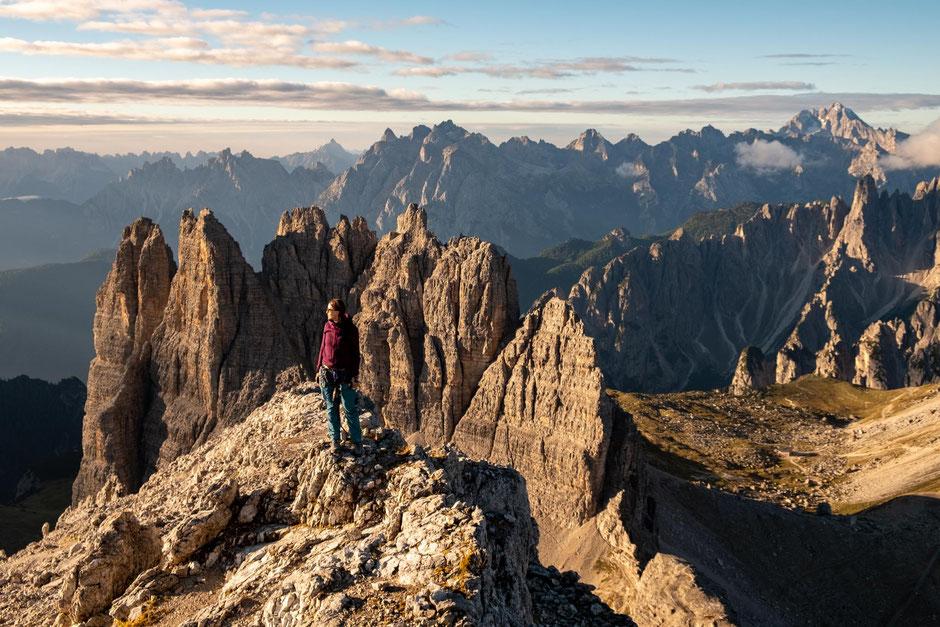 Best beginner via ferratas in the Italian Dolomites - Via Ferrata Innerkofler