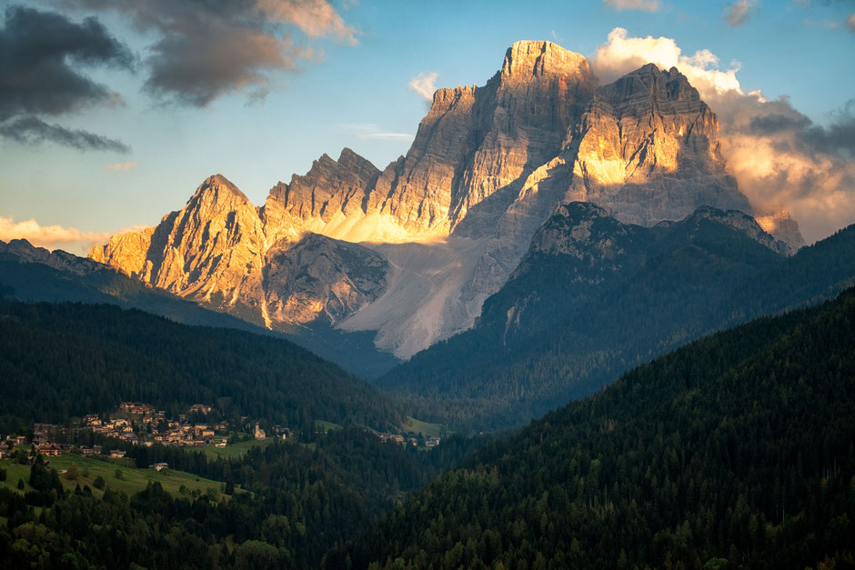 Val Fiorentina - a top autumn photography location in the italian Dolomites