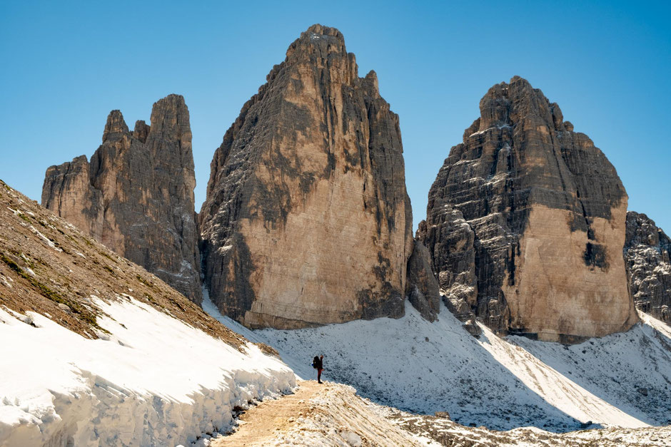 guide to Tre Cime Circuit in the Italian Dolomites