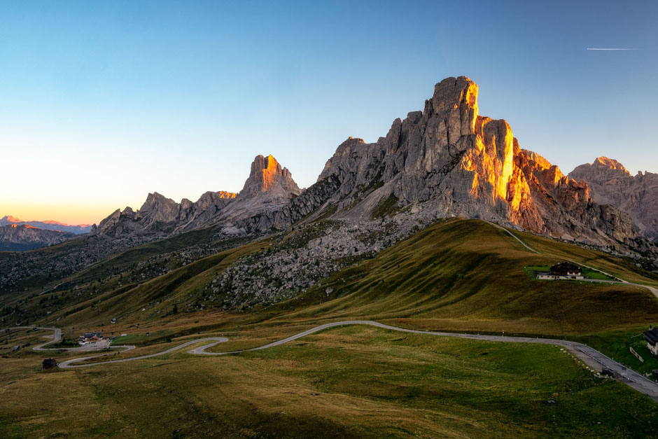 Ra Gusela and Passo Giau in the Italian Dolomites