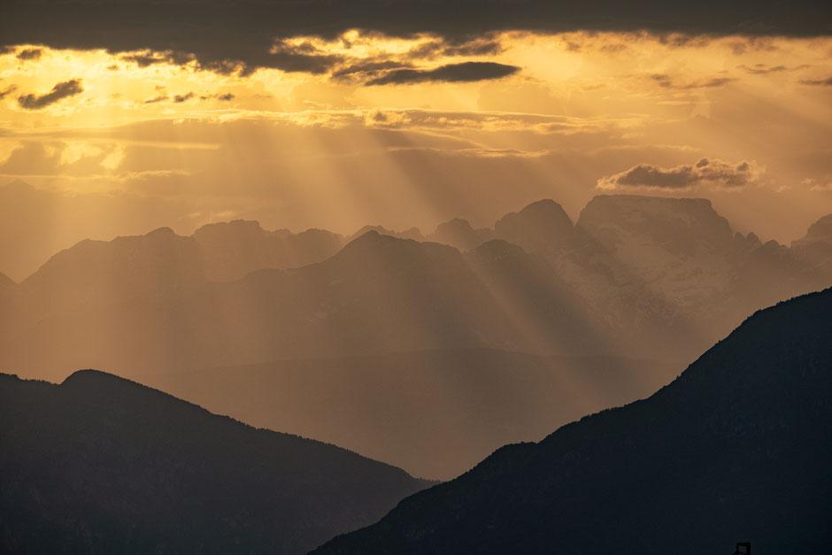 Dolomiti Brenta at sunset