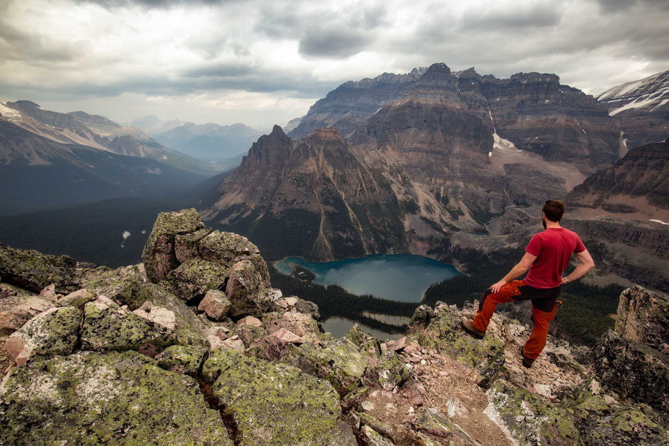 The Summit of Mount Schäffer - A complete hiking guide to Lake O'Hara