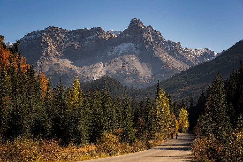 The Yoho Valley Road - One of the most scenic roads in the Canadian Rockies