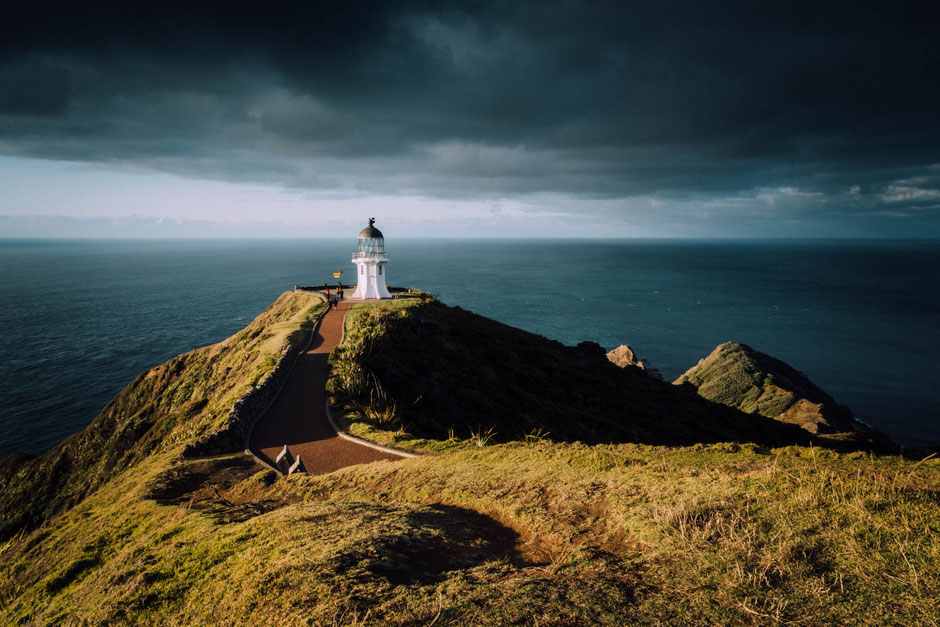 Cape Reinga Lighthouse. Top Photo Spots on the North Island