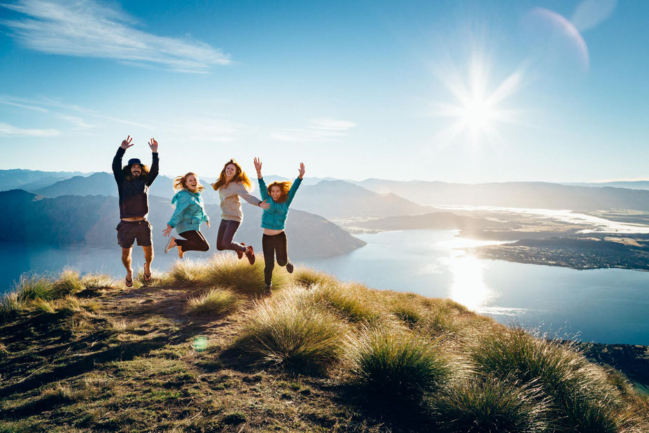 Roy's Peak in Wanaka - a must do hike on the 6 week itinerary around New Zealand