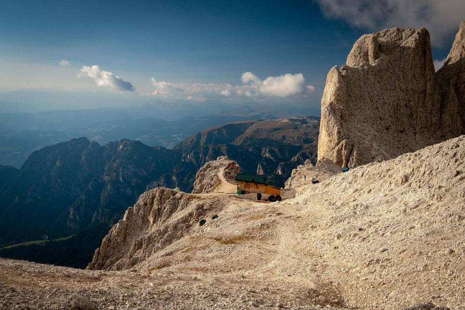 Passo Santner - Rosengarten group, Italian Dolomites
