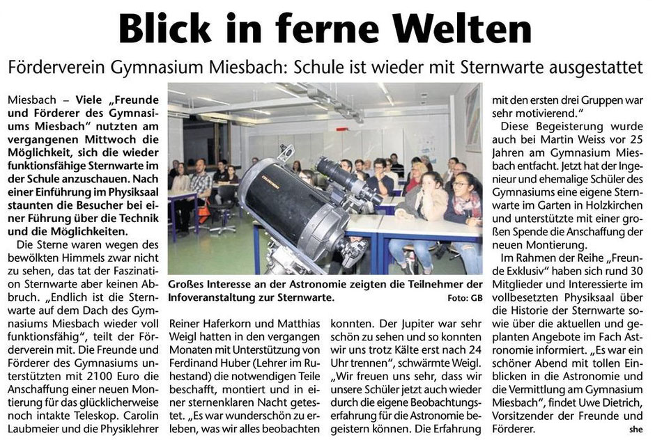 Das Gelbe Blatt Miesbach / 12. April 2017
