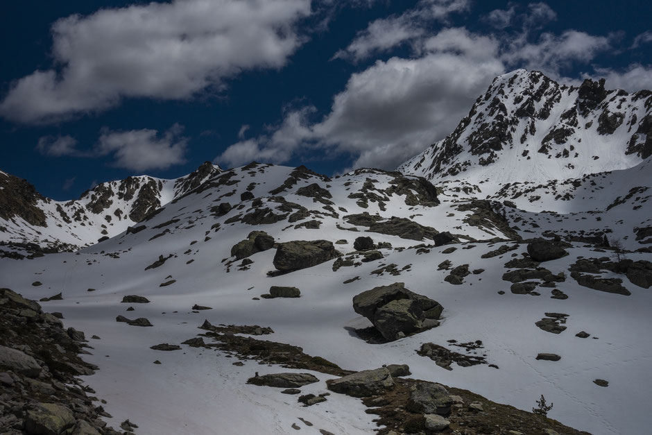 les plus hauts sommets du mercantour