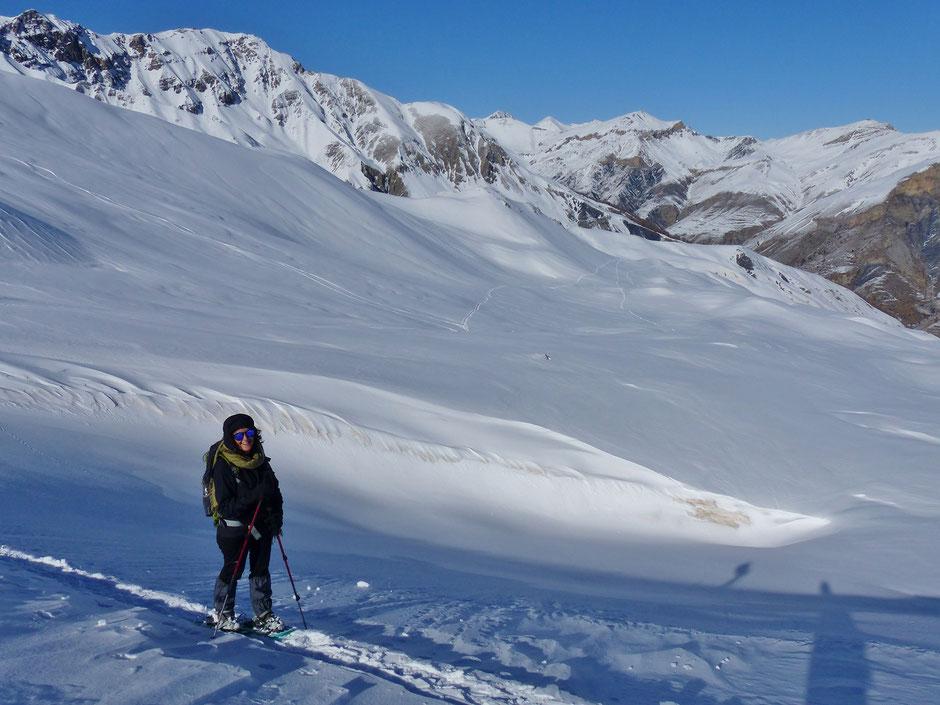 randonnee raquettes alpes du sud