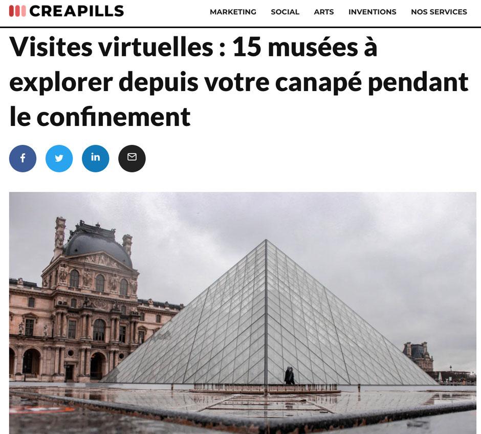 visite virtuelle musee
