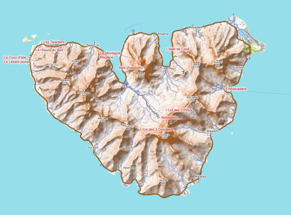 que faire à moorea polynesie