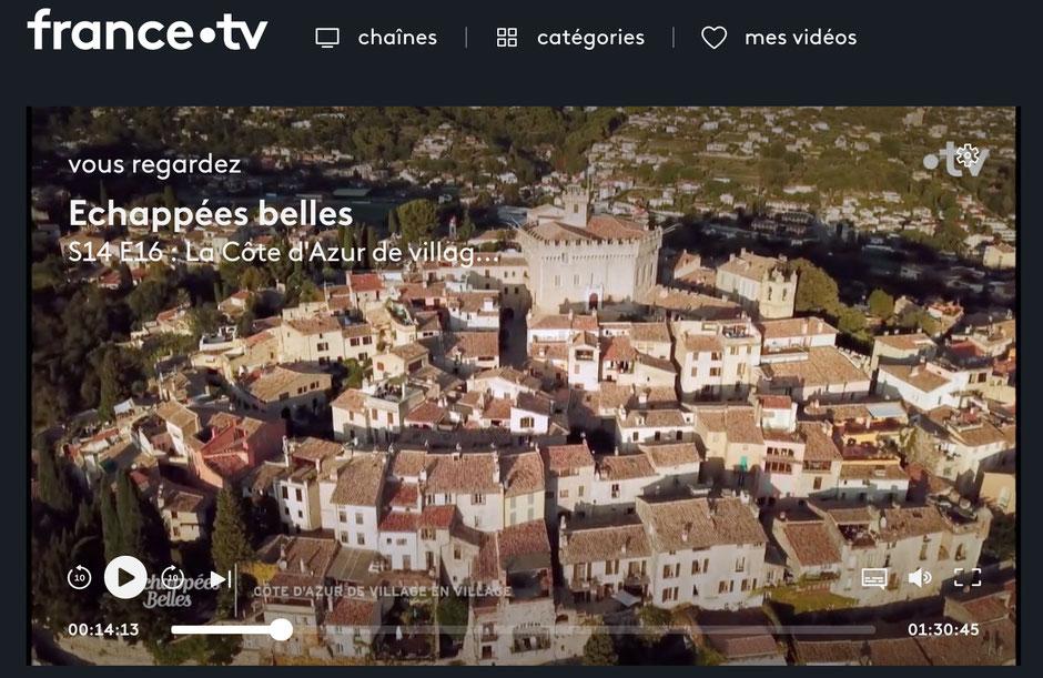 les plus beaux villages de la Cote d'Azur