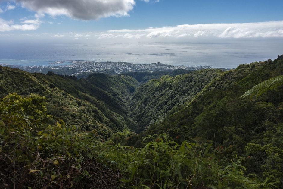 randonnée aorai tahiti