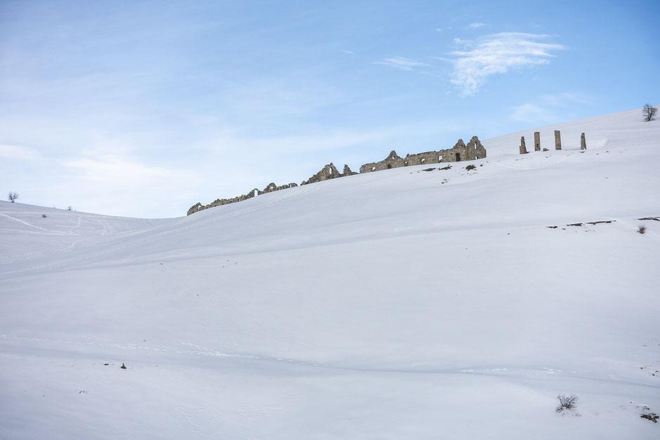 randonnee raquette alpes du sud