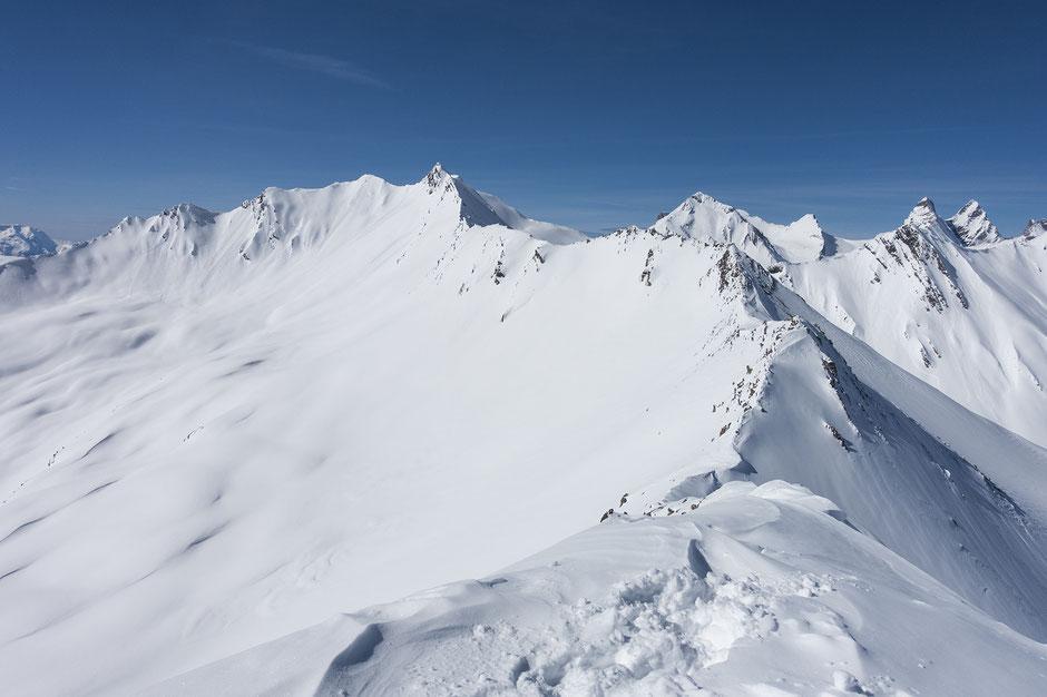 Le Pic Blanc du Galibier en raquettes à 2955 mètres !
