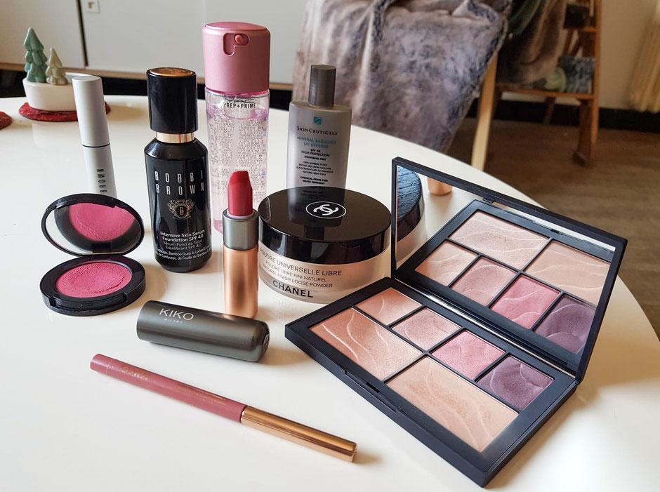 maquillage longue tenue