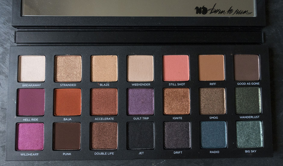 palette urban decay born tu run avis