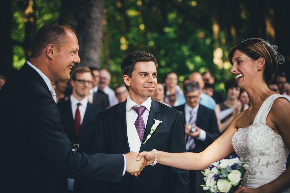 Freie Trauung Premium Exklusiv Hochzeitszeremonie mit Trauredner Thomas Hoffmann Hessen