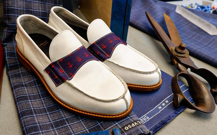 Scarpa in vero cuoio brand Argenio Napoli