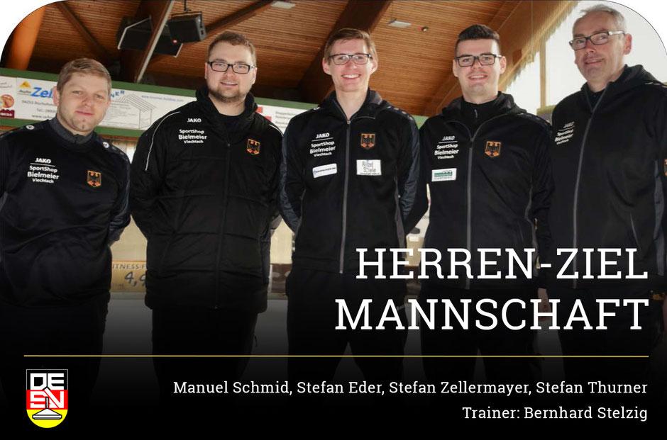 Herren-Ziel Eisstock WM 2018