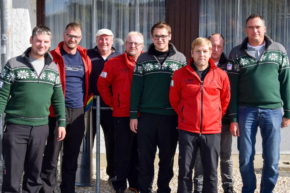 Siegermannschaften Herren-Pokalturnier FC Ottenzell