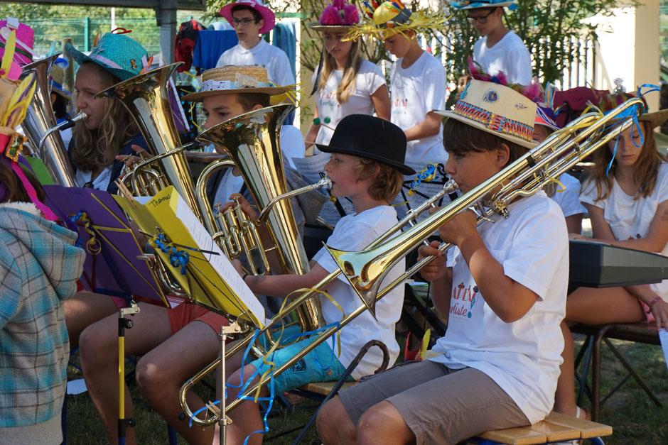école de musique EMC Crolles - gresivaudan : Colo EMC au Bourget du Lac été 2016